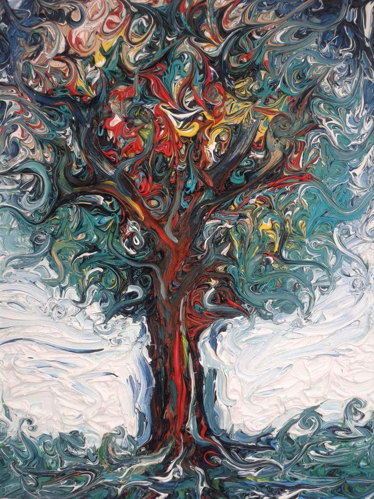 Meinaß frühe Werke - Ölbaum